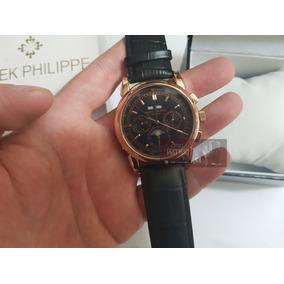 e5d357d7f41 Patek Philippe Geneve. Usado - São Paulo · Relogio Patekk Philippe  Rose preto Automatico Fases Lua P723