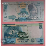 Billete De Malawi De 50