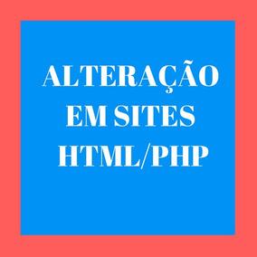 Alteração Para Sites Html/php
