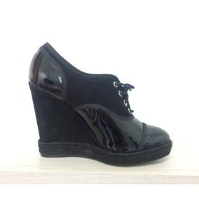 Sapato Schutz Anabela Espadrille. Novo!
