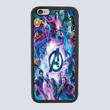 Protector Funda Case Goma Aluminio Avengers Marvel Infinity