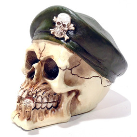 e55d1c2f63cbe Cranio Caveira Boina Militar Francesa Mod 00102