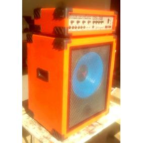 Cabeçote Jpl 250w E Caixa Action 15 Para Guitarra Ou Baixo