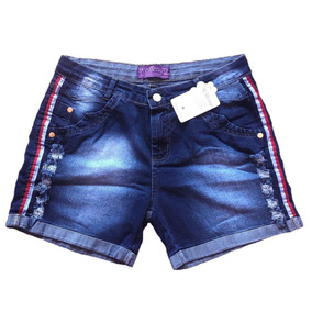 Kit 6 Short Jeans Infantil Menina Bermudas Criança Tam 2/44