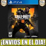 Call Of Duty Black Ops 4 Iv Ps4 Cod Bo 4 Digital 1° 50% Off
