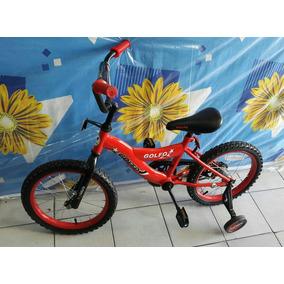 Bicicleta Rin 16 Caucho Con Tripa Moderna Freno Contra Pedal
