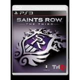 Juego Ps3 Saints Row The Third - Disco Nuevo Y Sellado.