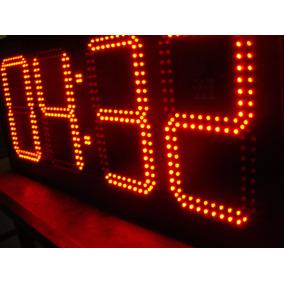 Reloj Cronómetro Digital De Leds 50cm
