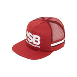 Boné Nike Aba Reta Sb Cut Trucker Unissex - Vermelho 52574c37342