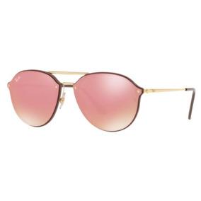 Oculos Sol Ray Ban Blaze Doublebridge Rb4292n 6327e4 Marrom e4723e04af