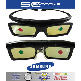 Óculos 3d Sansung Active Glasses X2 Pack Full Hd - Óculos 3D no ... 2a0b077fcd