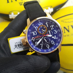 Relógio Invicta Force Original 1516 Dourado B.ouro 18k