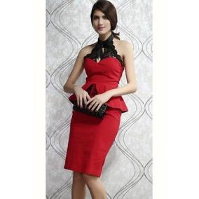 Vestido Elegante Formal Fiesta Ocasion Boda Grado Bautizo Co