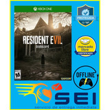 Resident Evil 7 Xbox One Offline