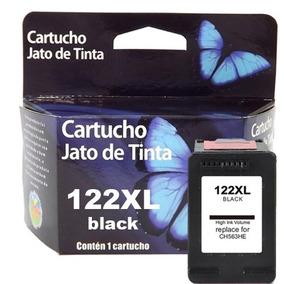 Cartucho 122 Preto 1000 2000 2050 3050 25ml Tinta