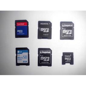 Adaptador De Memoria Micro Sd-sd Y Micro Sd-mini Sd