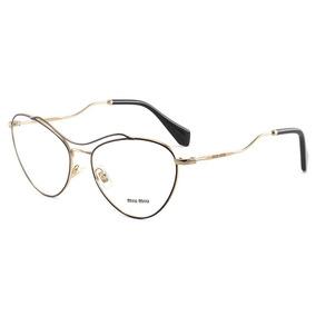 Armacao Gatinho Miu Miu - Óculos no Mercado Livre Brasil b6dd409bd7