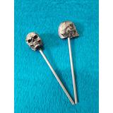 Mazos P/ Pedal De Bombo Crash Head Modelo Skull. Nuevos!