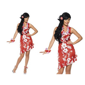 Vestidos mujer para fiesta hawaiana