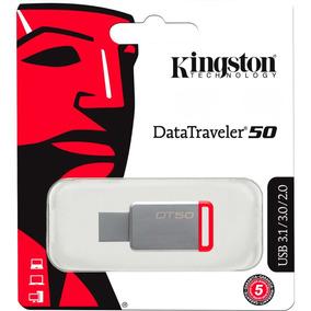 Memoria Usb Metalica 32gb Kingston Dt50 Usb 3.1 Dt50/32gb