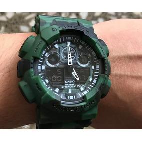 b1eb14858cad Reloj G Shock Camuflado Joyas Relojes Casio - Relojes Pulsera ...