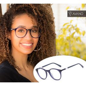 Armação Oculos Grau Feminino Avano Av 93-c Acetato Original · R  80 254cbab9d7