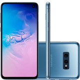 Smartphone Samsung Galaxy S10e 128gb 16mp Tela 5.8 Azul