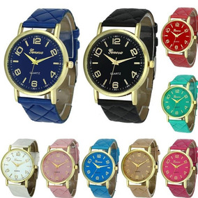 Kit 8 Relógios Feminino Barato Para Revenda Geneva Atacado $