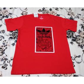4a36d64a05fa8 Camiseta Camisa adidas Original Masculina - G (peça Unica)