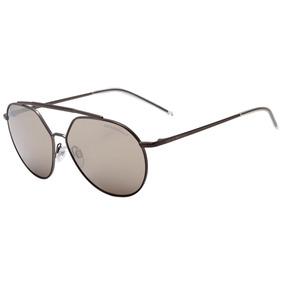 Emporio Armani Ea 2070 - Óculos De Sol 3003 5a Cinza Fosco  3acd3df8cc