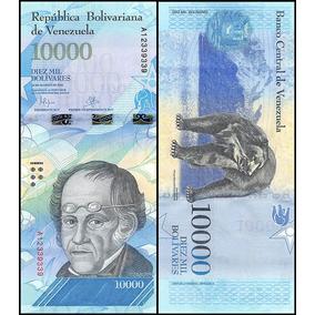 Cédula Fe De 10.000 Bolívares New