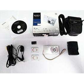 Camera Sony Cyber-shot Dsc-320 14.1mp Prata + Kit Exclusivo