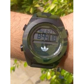 Relógio Camuflado Digital adidas Silicone Classic