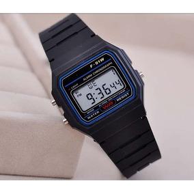 43de6fc7e Relogio Casio F91w Branco Pronta Unissex - Relógios De Pulso no ...