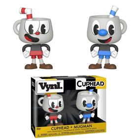 Boneco Funko Vynl - Cuphead Cuphead + Mugman 2pack