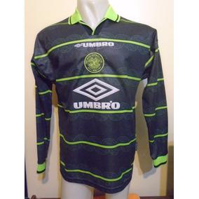 Camiseta Celtic Escocia 1998 1999 Larsson 7 Selección Suecia 8a9f1dcf17a05