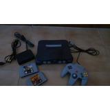 Nintendo 64 + 2 Juegos +1 Control