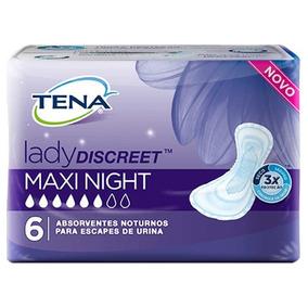 Absor.intimo P/ Incont.urinar.lady Discreet M.night C/6-tena