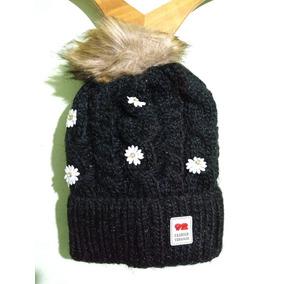 Gorros Tejidos Con Flores Para Ninas - Accesorios de Moda en Mercado ... 5edef738082