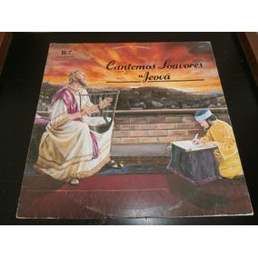 Capa Lp Cantemos Louvores A Jeová - R-7, Disco Vinil - Obs