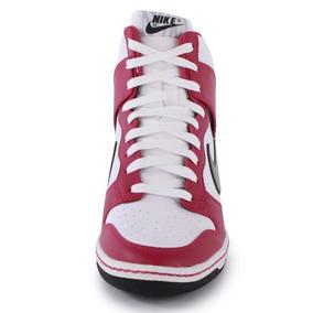 Botitas Nike Con Taco Interno Purpura