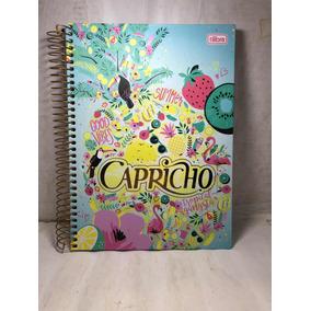 Caderno Capricho 10 Matérias Colegial 200 Folhas - Tilibra