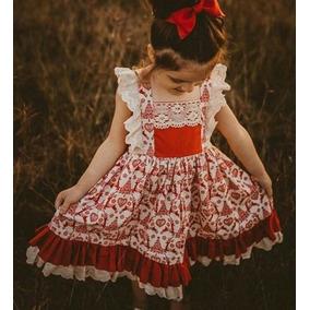 bff4e6554 Vestido Floreado Cueca Para Nina - 2 990 Ropa Mujer - Vestuario y ...