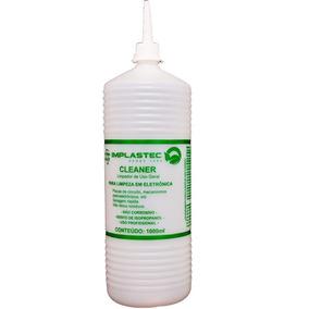 Kit 2 Cleaner Limpa Placas Isopropilico 1l Implastec - M.e