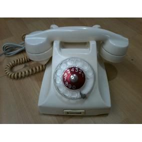 Teléfono Antiguo Ericsson Baquelita Marfil.