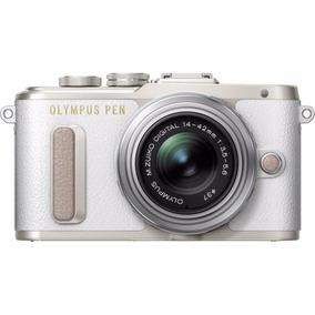 Olympus Pen E-pl8 Blanca Con 14-42mm Iir Lente De Plata
