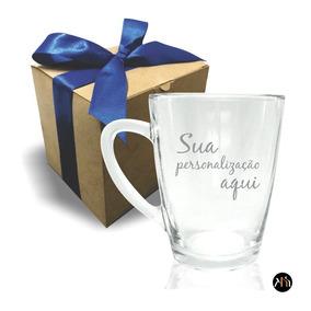 Caneca De Vidro Para Chá Personalizada (1.5921h)