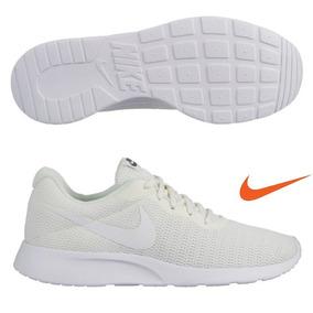 Tenis Nike Tanjun Beige Hombre Original 812654-103