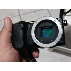 Câmera Mirrorless Sony Nex 5r 16.1 Mp E-mount E Lcd Móvel