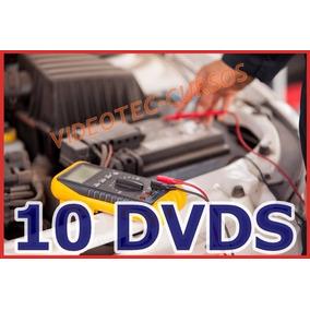 Elétrica Automotiva Injeção Eletrônica Curso Em Vídeo 10 Dvd